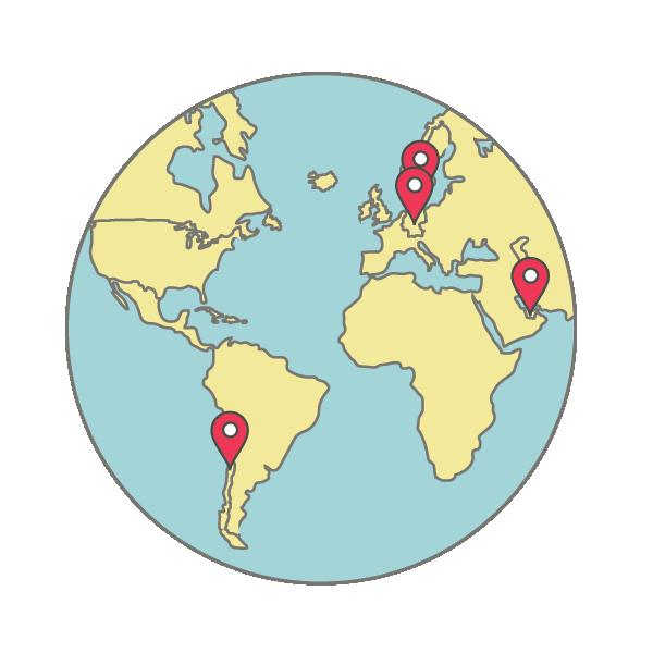 LLN worldwide locations