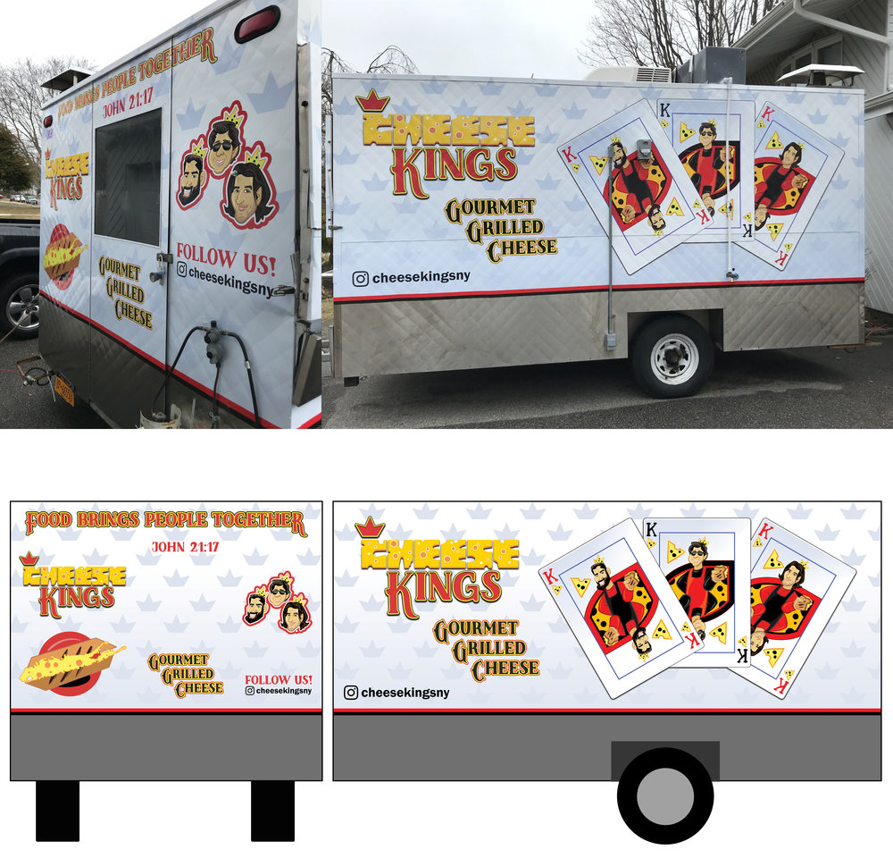 """Cheese Kings"" Food Truck"
