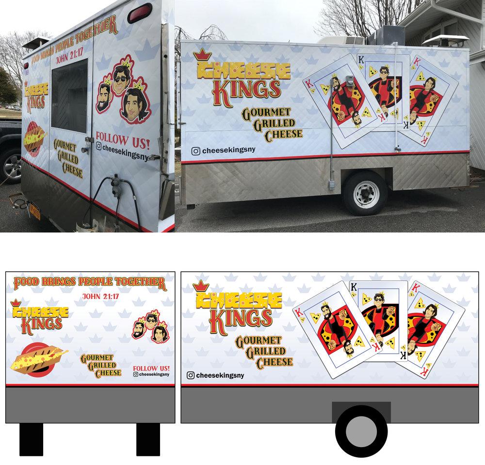 """""""Cheese Kings"""" Food Truck"""