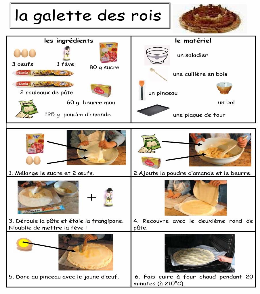 Gateau de rois recipe