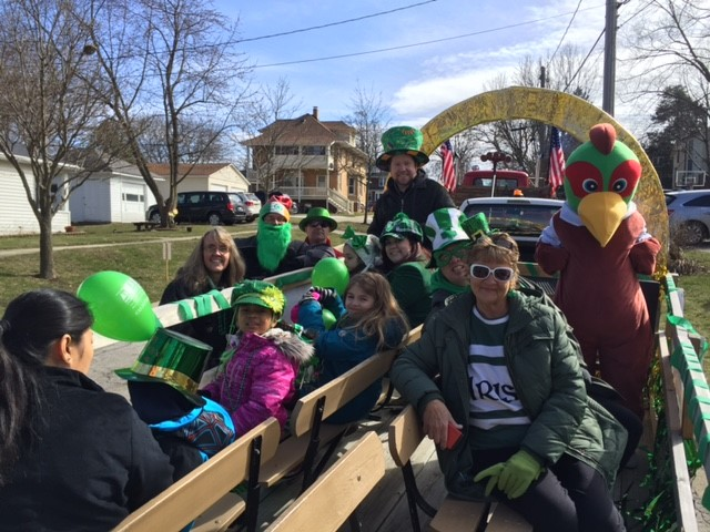 Pheasant Run St Patrick's Day Float
