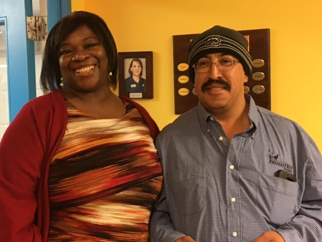 Patricia Quinn (Director of HR) & Roberto Castillo