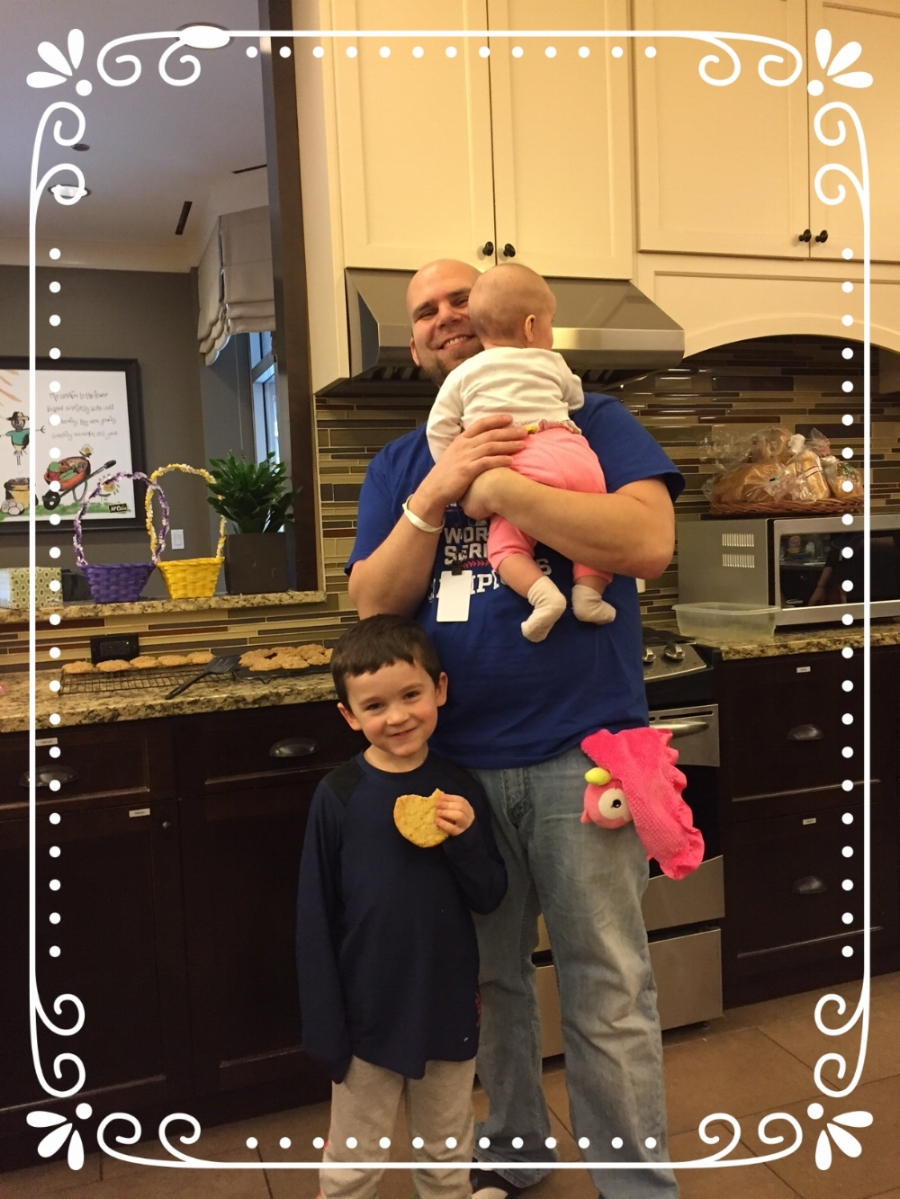 One of the many beautiful families at Ronald McDonald House