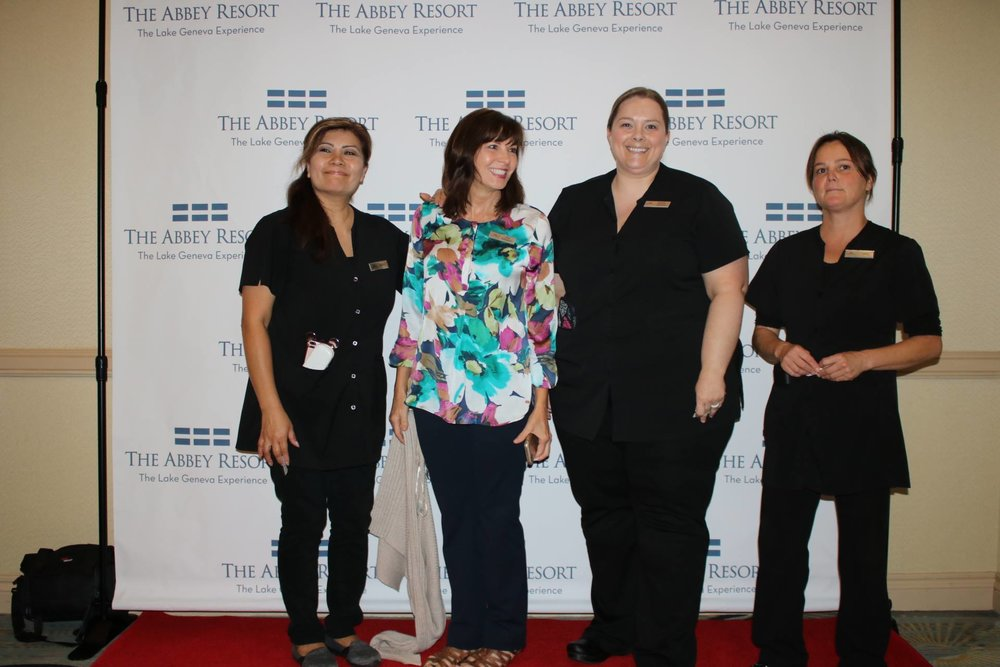 Red carpet arrivals - Avani Spa