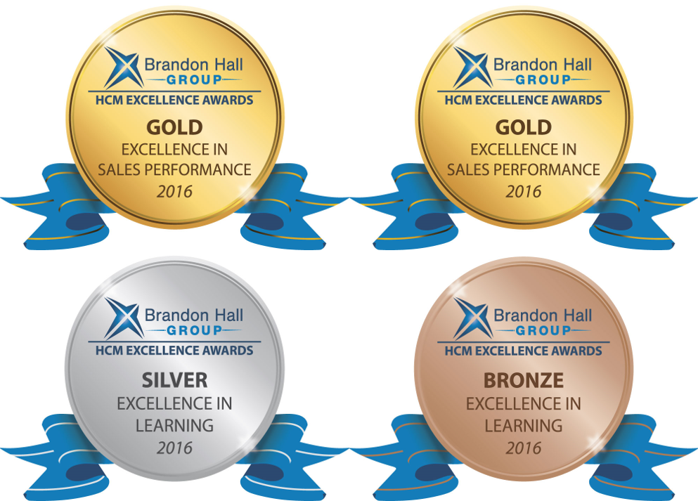 Brandon Hall excellence awards sales performance excellence in learning