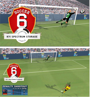 gamification soccer IBM KYI game