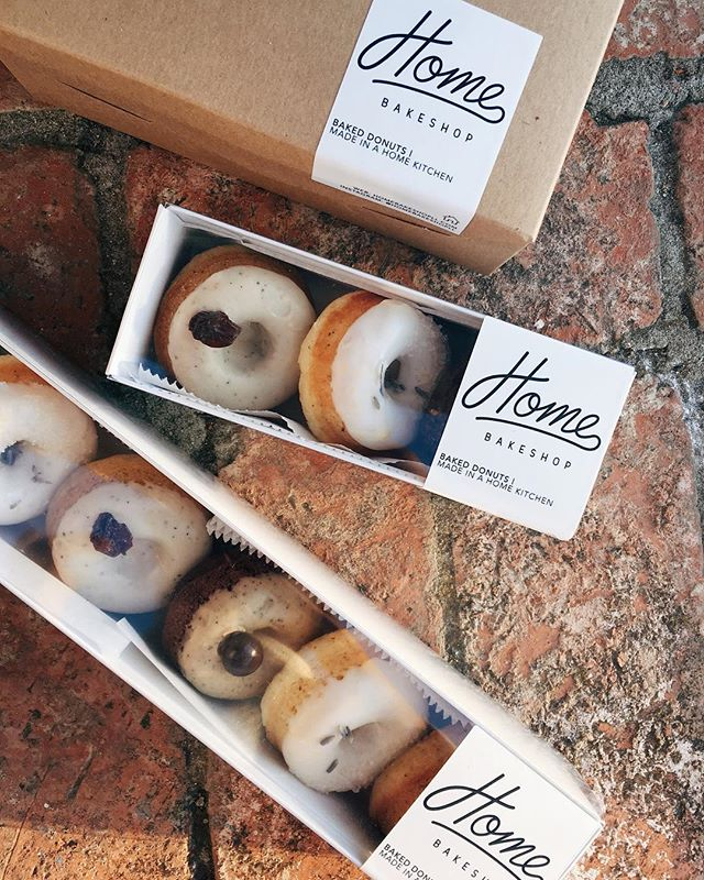 3-piece donut boxes are back in stock! Order them for gift baskets or party favors during this holiday season! Just ask for pricing as you order online. And don't forget to check out the seasonal flavors going on until the end of this month 🍂