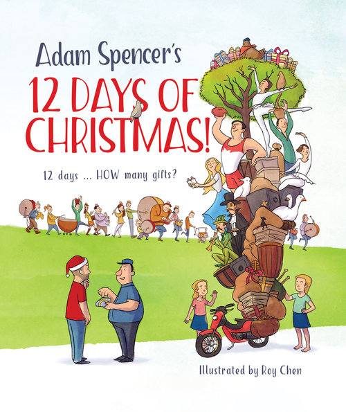 adam spencers 12 days of christmas - 12 Days Of Christmas Book