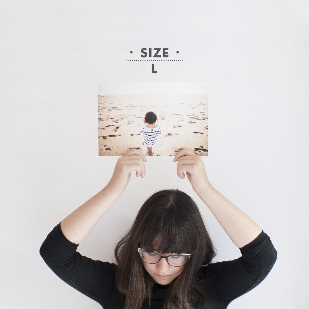 """Size """"L"""" prints"""