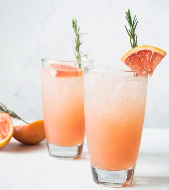 Grapefruit and Rosemary Spritzer -