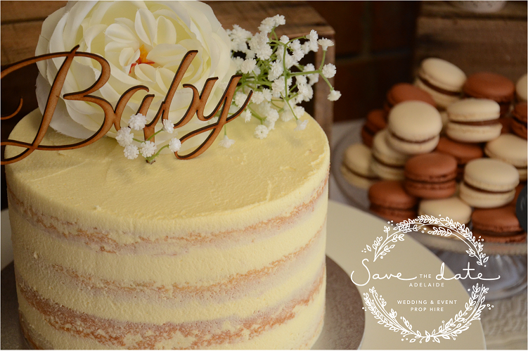Cakes/Sweet & Food Accessories — Save The Date Wedding & Event Prop Hire
