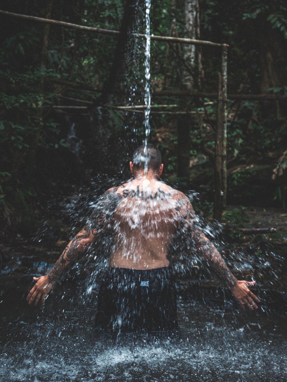 Natural Pool Bath