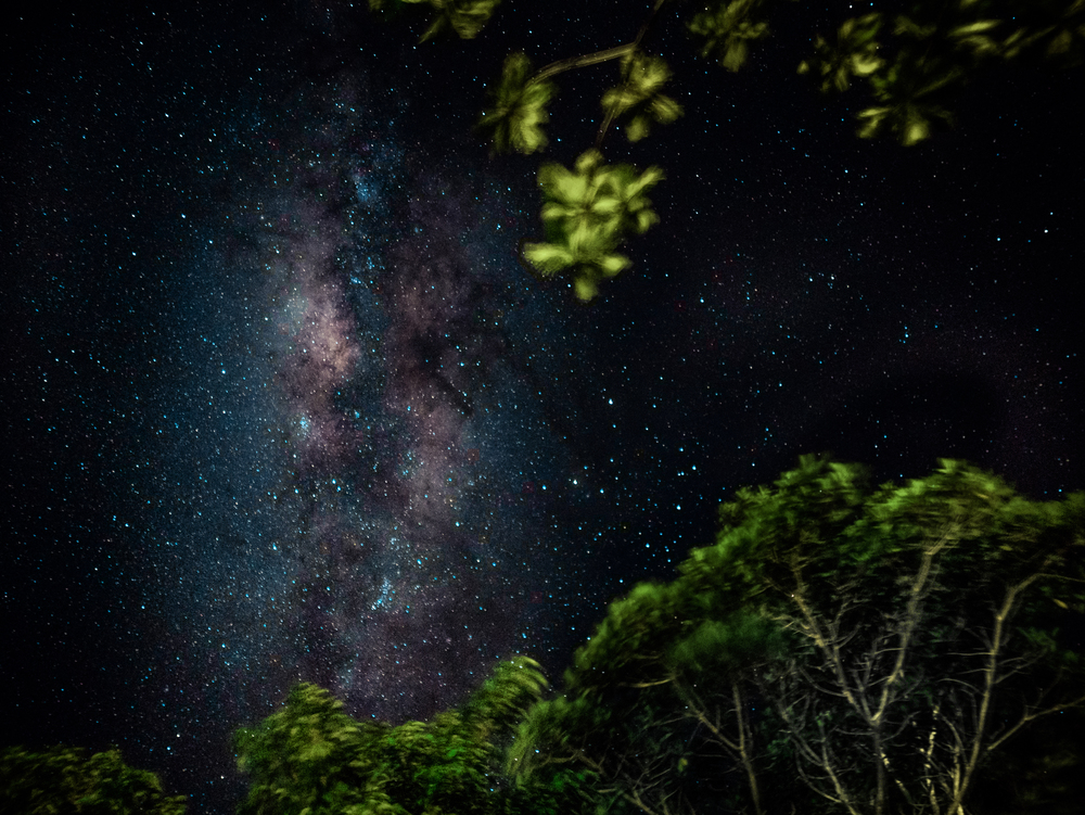 View of Milky Way