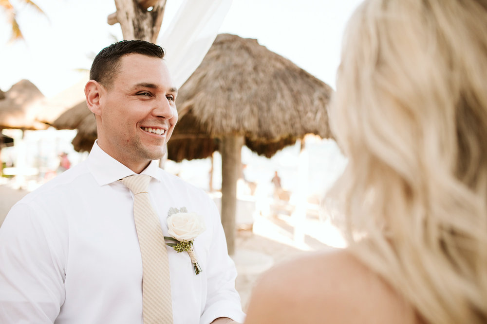 ceremony in playa del carmen