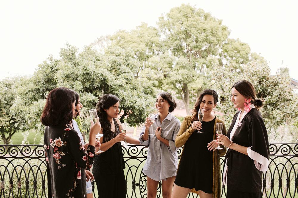 brindis con damas
