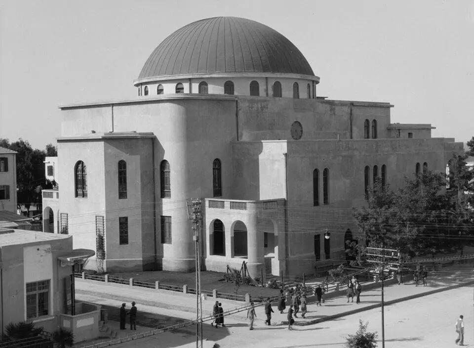 בית הכנסת הגדול עם השלמת בנייתו