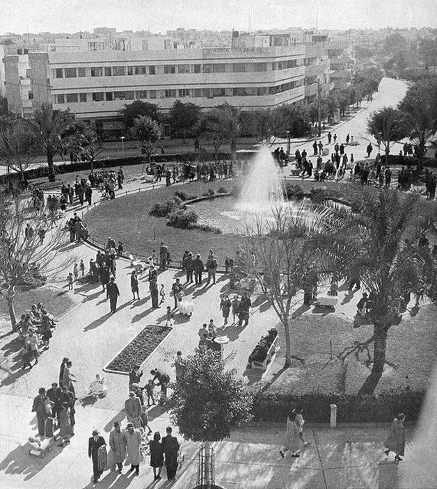 הצנטרום של הפיילה. כיכר דיזנגוף