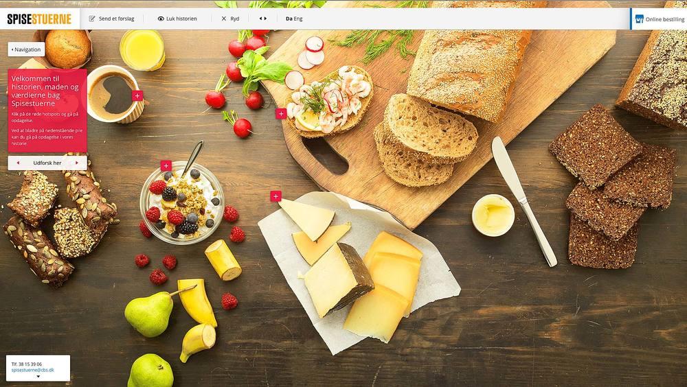 Spisestuerne   Canteen website