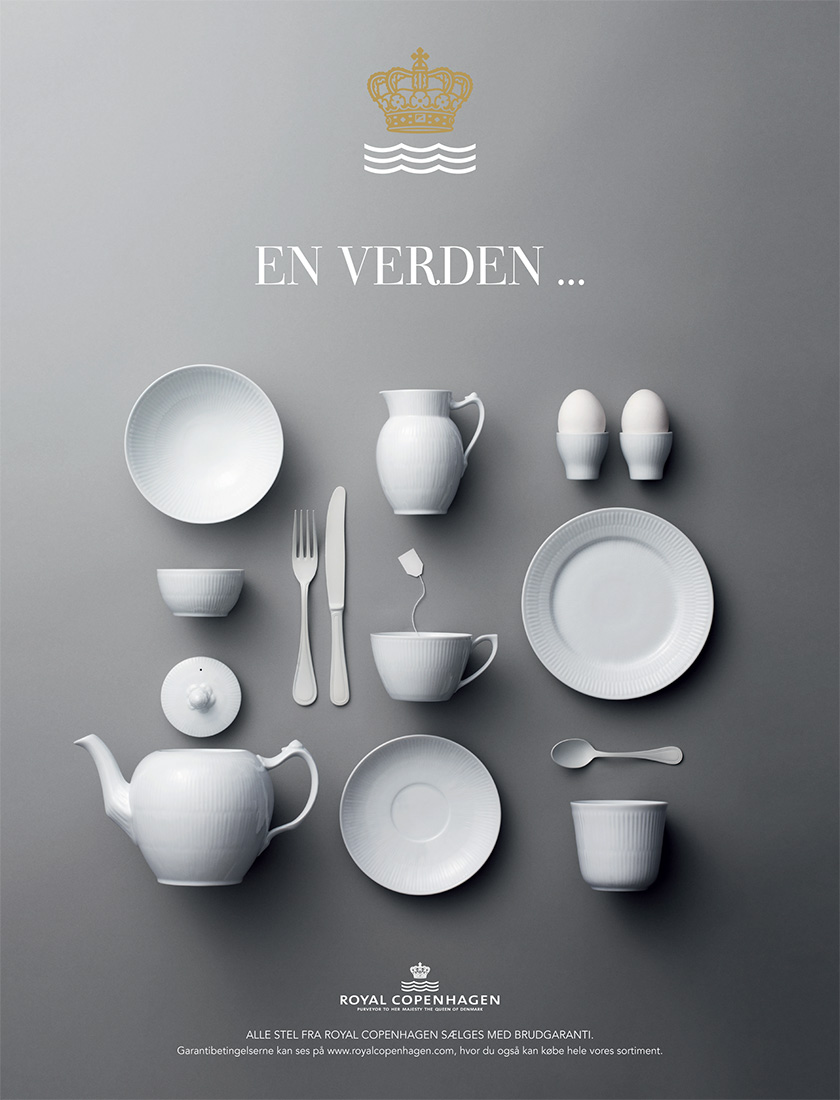 Royal Copenhagen   Mix&Match campaign