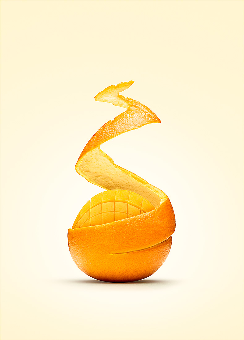 Personal work   Orange mango