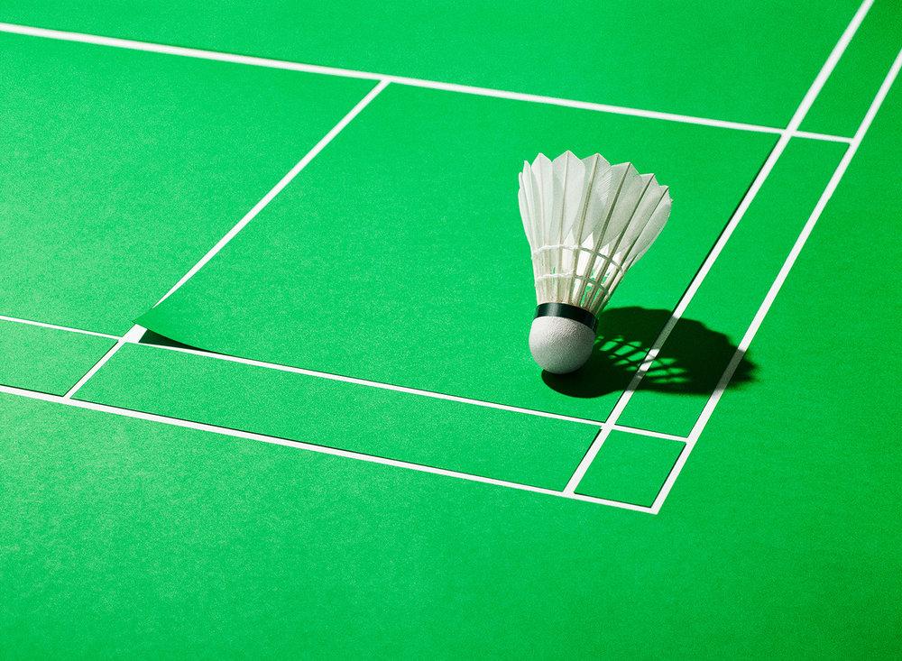 Personal work   badminton