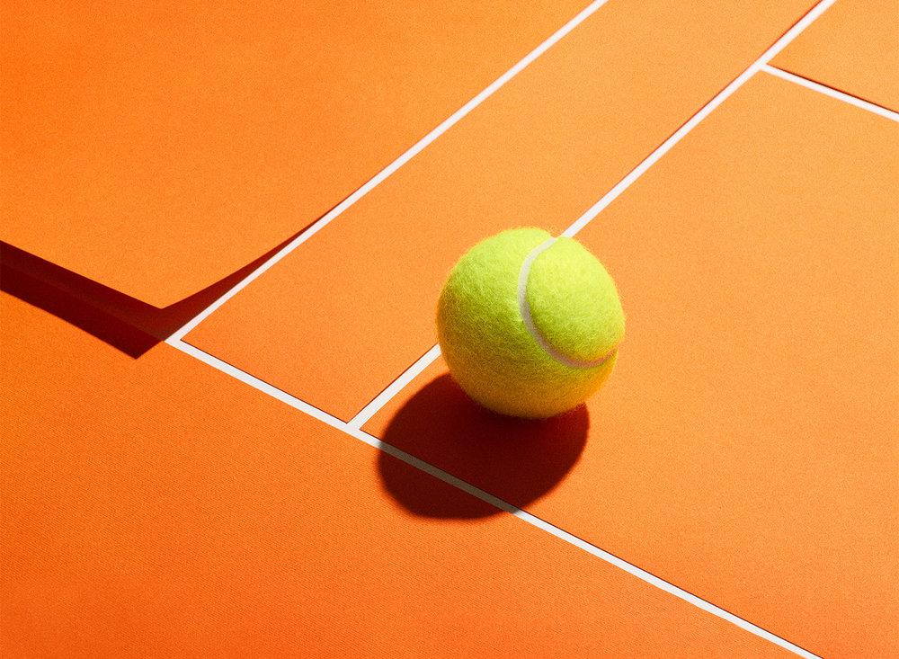 Personal work   tennis