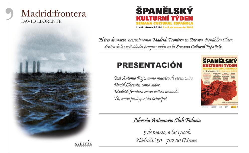 Presentación Ostrava. MadridFrontera. Semana Cultural Española..png