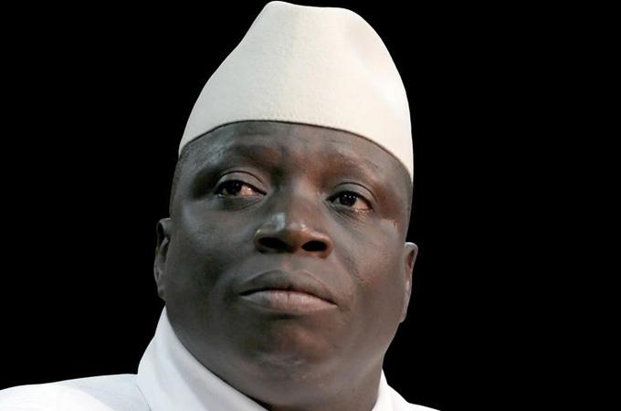 Former President Yayha Jammeh