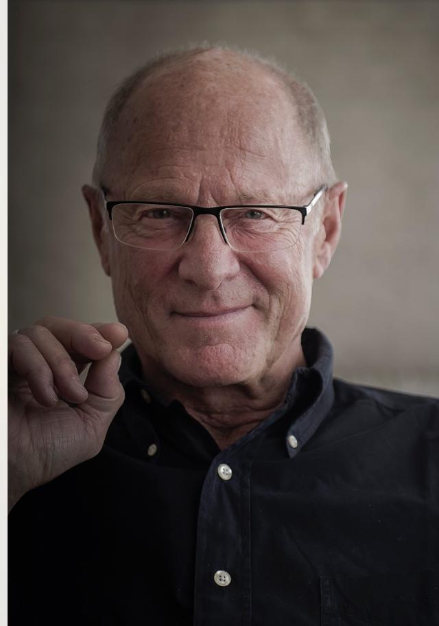 Allan Linnér, Radiopsykologen i P1, medverkar i samtalet om läsande som terapi.