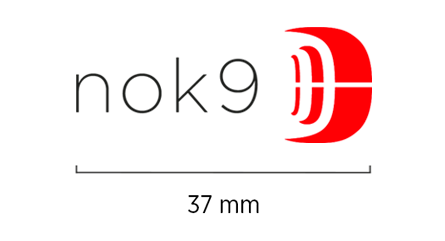 Minimum Logo Size, 37 mm
