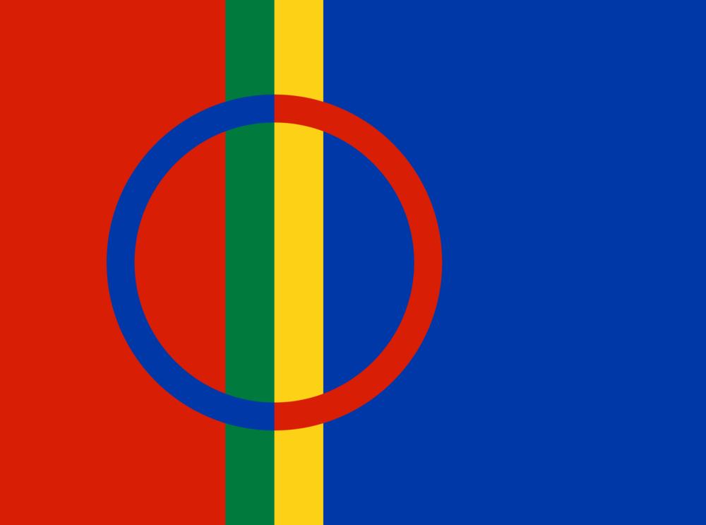 The Sámi flag.