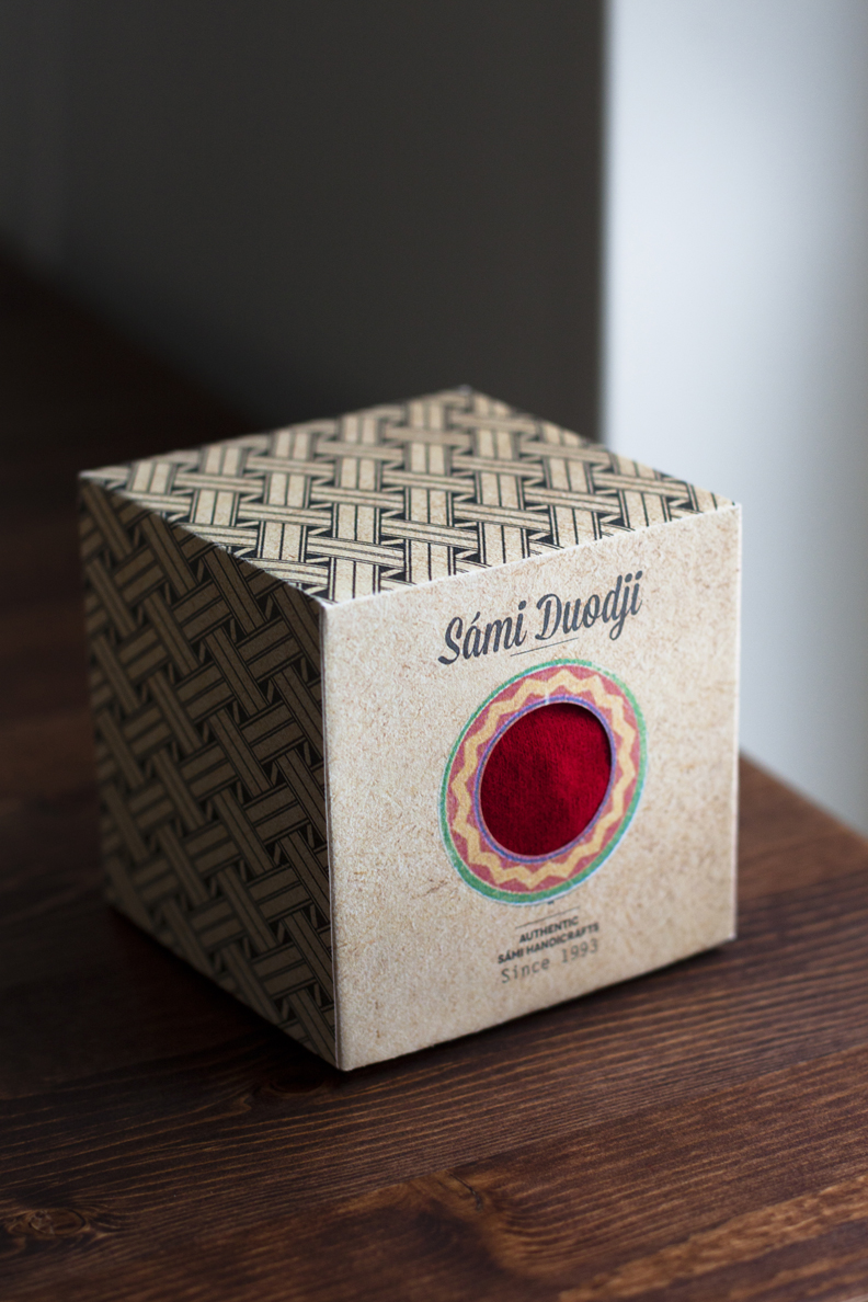 Square box packaging