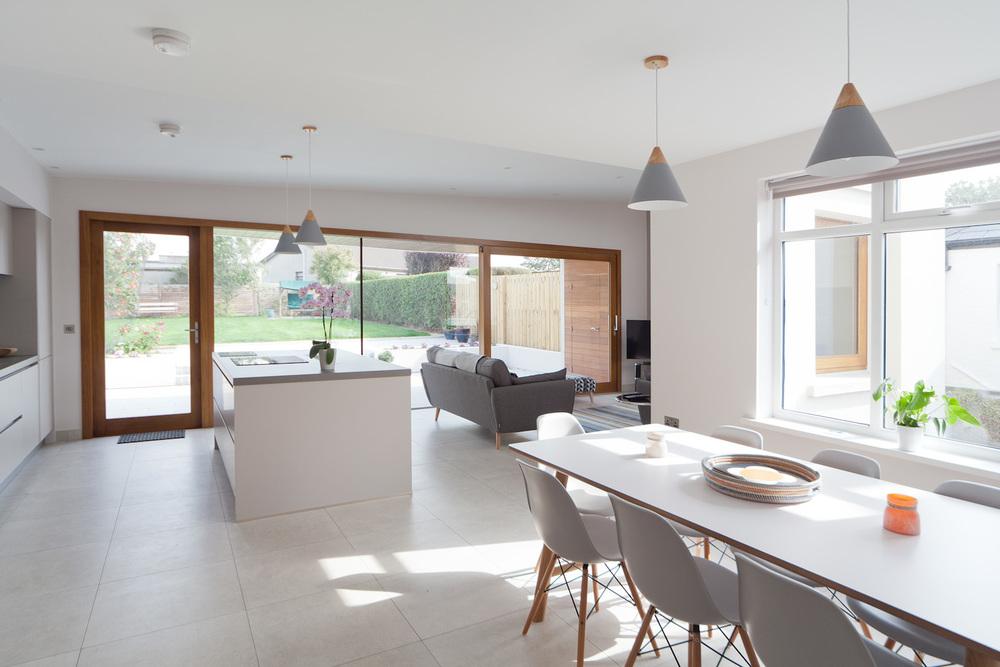 Nest architects cookstown northern ireland for Open plan house designs ireland