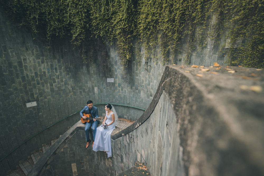 DANIEL X KATHLEEN - photographer: Michaelvenue: Fort Canning & Victoria Theatre