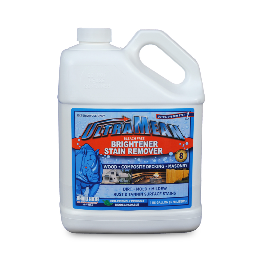 UltraMean, wooden deck cleaner