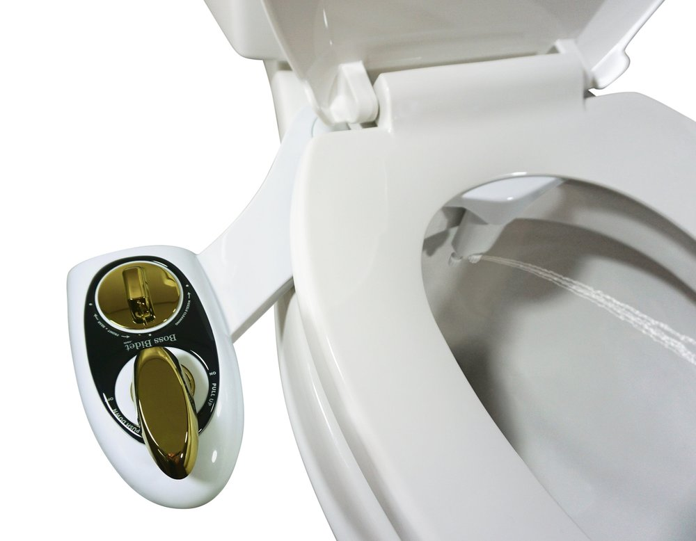 boss bidet best non electric butt cleaner water bathroom dual nozzle women hot cold toilet attachment
