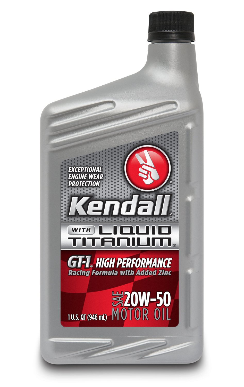 Racing Performance Kendall Motor Oils