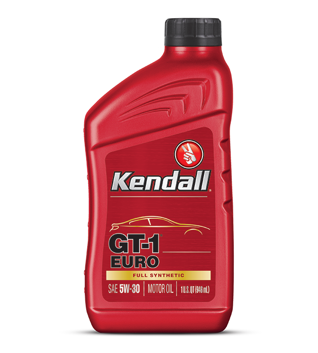 Kendall GT-1 Euro Engine Oil