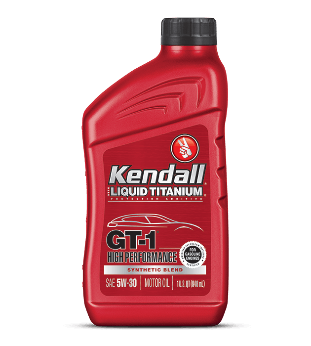 Kendall High Performance Synthetic Blend Engine Oil
