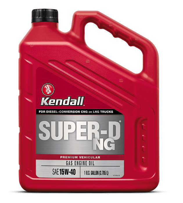 Kendall Super-D NG Natural Gas Engine Oil
