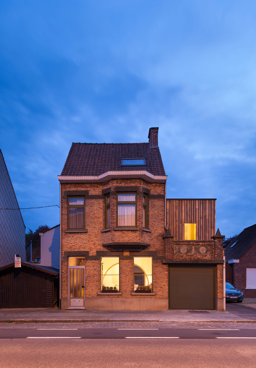 Residence RV by Vandamme-Vandeputte architecten
