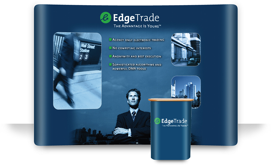 EDGETRADE TRADE SHOW BOOTH