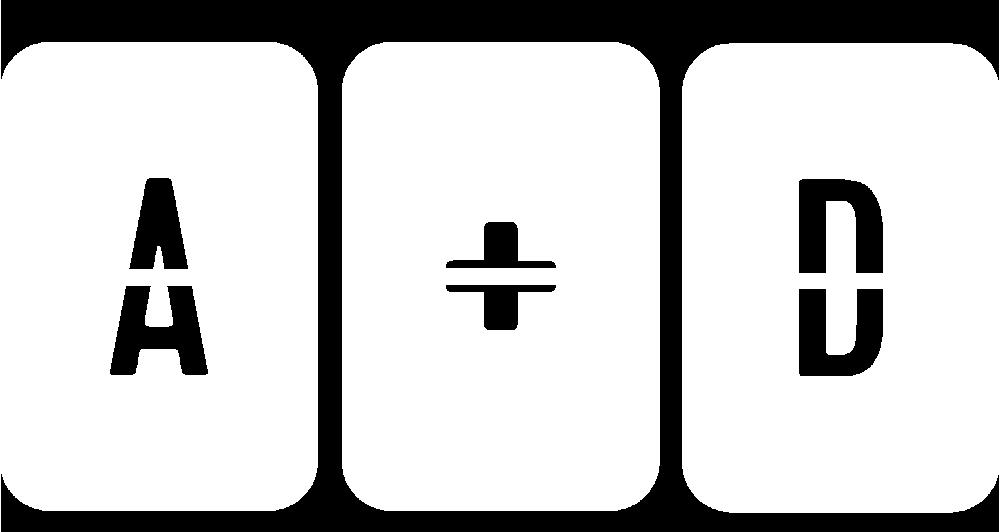 A+D WHITE Logo.png
