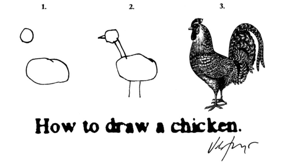 How to Draw a Chicken , James Victore