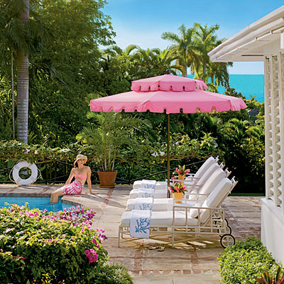 Meg Braff Costal Living chic pink pool umbrella.jpg