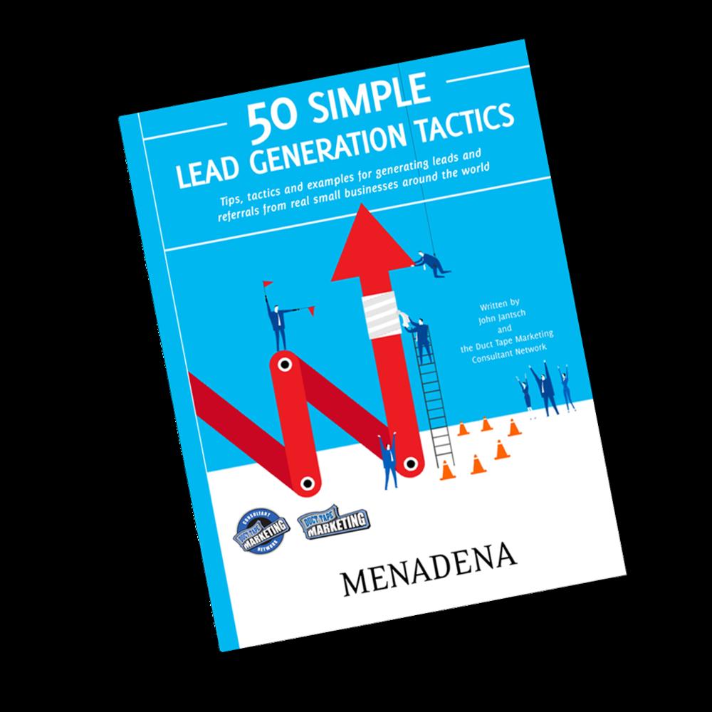 50 Lead Generation Tactics Free Ebook