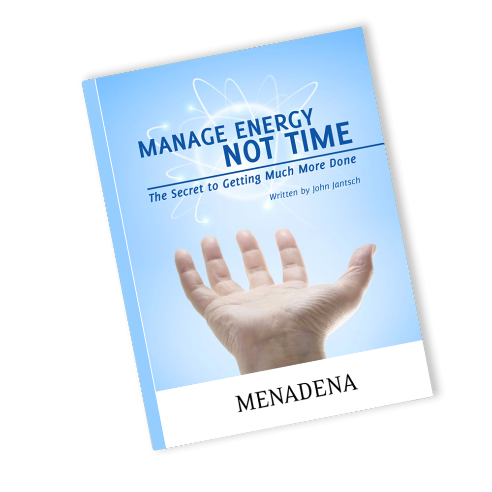 Manage Energy Not Time Free Ebook