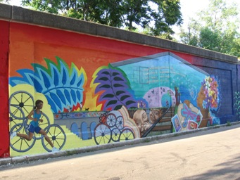 The Intro, Bloomingdale Trail Mural