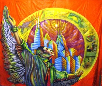 Day Reporting Center, Cook County Prison Mural