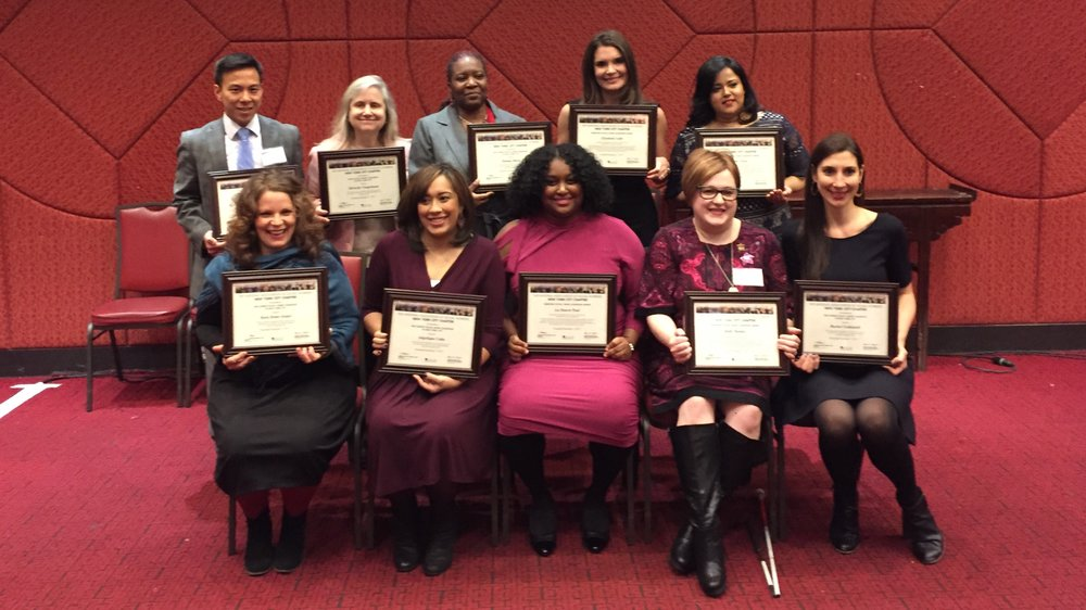 """THe NASW-NYC Leadership awards recognize """"social workers who demonstrate exemplary leadership qualities and a unique commitment to the improvement of the social and human condition."""""""